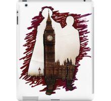Sherlock Holmes Sillhoute iPad Case/Skin