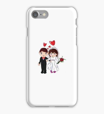 Bride And Groom #3 iPhone Case/Skin