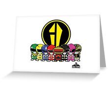 Power Rangers Greeting Card