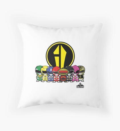 Power Rangers Throw Pillow