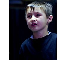 Thomas on Stage Photographic Print