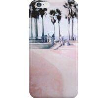 Skatepark Peach iPhone Case/Skin