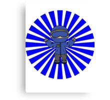 Polik Apparel Mascot 3King Canvas Print
