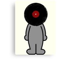Vinylized!!! Vinyl Records DJ Retro Music Man T-Shirt Stickers Prints Canvas Print