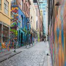 Hosier Lane, Melbourne 2 by Pauline Tims
