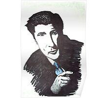Alec Baldwin with Cigar Poster