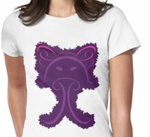Frantonio (on purple) Womens Fitted T-Shirt