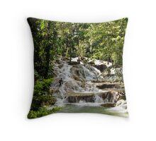 Dunn's River Falls Throw Pillow