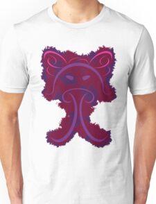 Frantonio (on red with Purple) Unisex T-Shirt