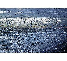 Falling Foam Photographic Print