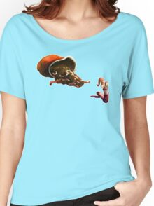 Earth Worm Jim making his big escape Women's Relaxed Fit T-Shirt