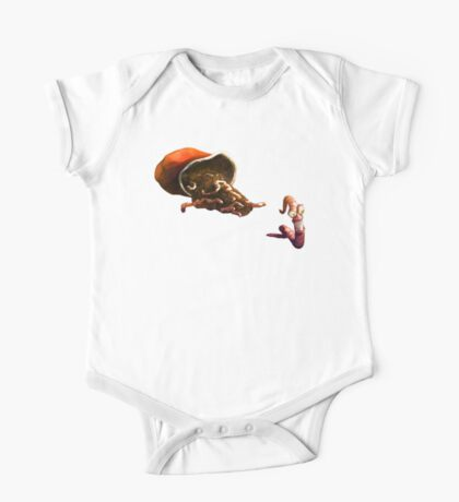 Earth Worm Jim making his big escape One Piece - Short Sleeve