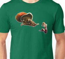 Earth Worm Jim making his big escape Unisex T-Shirt