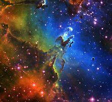 Galaxy Eagle by rapplatt