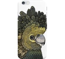 Black Cockatoo iPhone Case/Skin