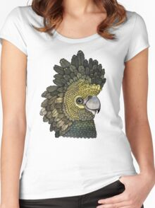 Black Cockatoo Women's Fitted Scoop T-Shirt