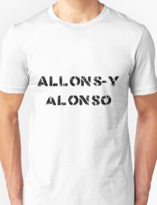 Allons-y Alonso (Light background) T-Shirt