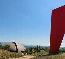 Il Carapace, La Cantina della Tenuta CastelBuono, Umbria, Italy by Andrew Jones
