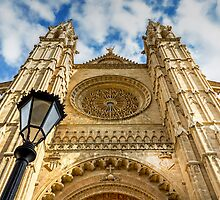 Palma Cathedral, Majorca. by George Standen