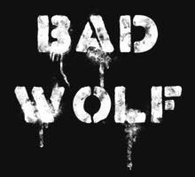 Bad wolf (Dark background) by escadara