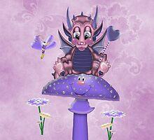 Mystical Dragon .. iPad case by LoneAngel
