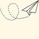 Paper plane by 2B2Dornot2B