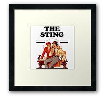 The Sting Framed Print