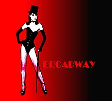 Broadway by Mariaan Maritz Krog Photos & Digital Art