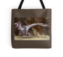 Velociraptor Reconstruction Tote Bag
