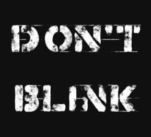 Don't blink (Dark background) by escadara
