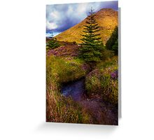 Beauty all Around. Rest and Be Thankful. Scotland Greeting Card