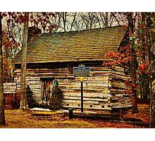 Forestburgh NY Primitive Cabin Photographic Print