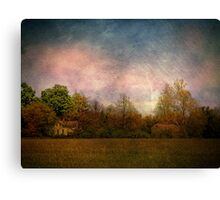 Old Farmstead in the Country Canvas Print