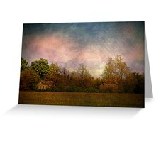 Old Farmstead in the Country Greeting Card