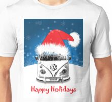 VW Camper Happy Holidays Unisex T-Shirt