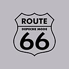 Depeche Mode : Route 66 - Black - by Luc Lambert
