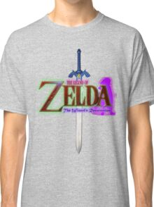 *GIRLS* The Legend of Zelda: The Wizards Resurrection (Fan Made Film) LOGO TEE  Classic T-Shirt