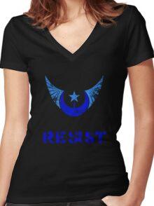 NLR Resist Women's Fitted V-Neck T-Shirt