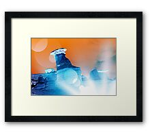 Alien World View Framed Print