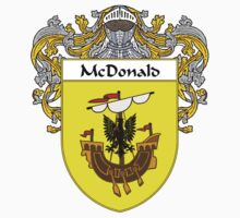 McDonald Coat of Arms/Family Crest One Piece - Short Sleeve