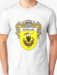 McDonald Coat of Arms/Family Crest Unisex T-Shirt