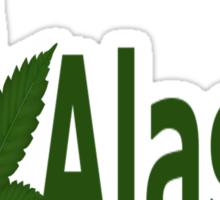 0200 I Love Alaska Sticker