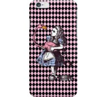 Alice in Wonderland Flamingo iPhone Case/Skin