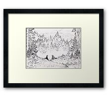 About the king Hurley Framed Print