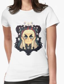 Thranduil White Gems Womens Fitted T-Shirt