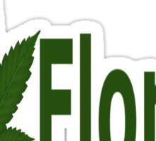0207 I Love Florida  Sticker