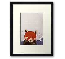 Happy moments Framed Print