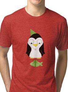 Cute Creatures (Penguin) Tri-blend T-Shirt