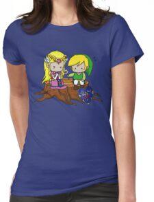 Zelda Link Love Womens Fitted T-Shirt