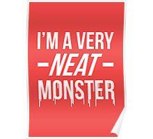 Dexter typography (variant) Poster